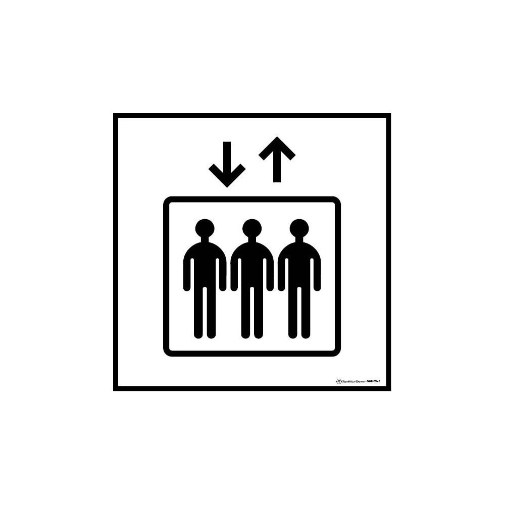 Visuel Carré Ascenseur