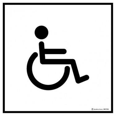 Visuel Carré Toilettes Handicapés
