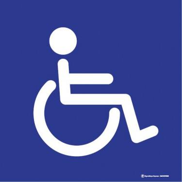 Visuel Carré Accessibilité Handicapés