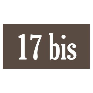 Panneau rectangulaire plaque de porte modèle n°2
