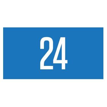 Panneau rectangulaire plaque de porte modèle n°3