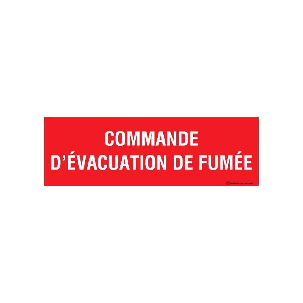 panneau commande d 39 vacuation de fum e. Black Bedroom Furniture Sets. Home Design Ideas