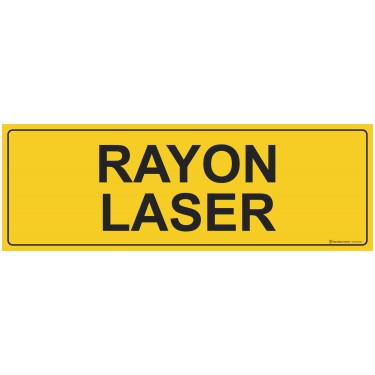 Panneau rectangulaire Rayon Laser