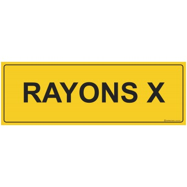 Panneau rectangulaire Rayons X