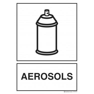 Panneau rectangulaire Tri sélectif Aérosols