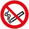 Panneau Interdiction de fumer ISO 7010 P002