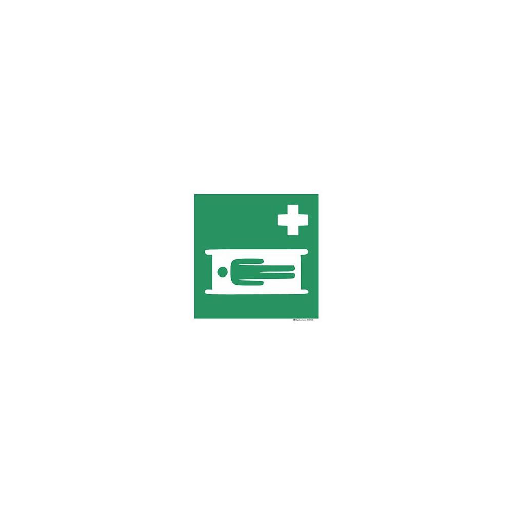 Panneau Civière ISO7010 E013