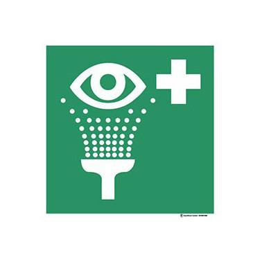Panneau Equipement de rinçage des yeux ISO 7010 E011
