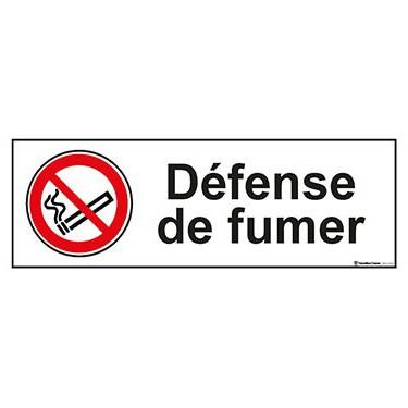 Panneau Défense de fumer ISO 7010 P002
