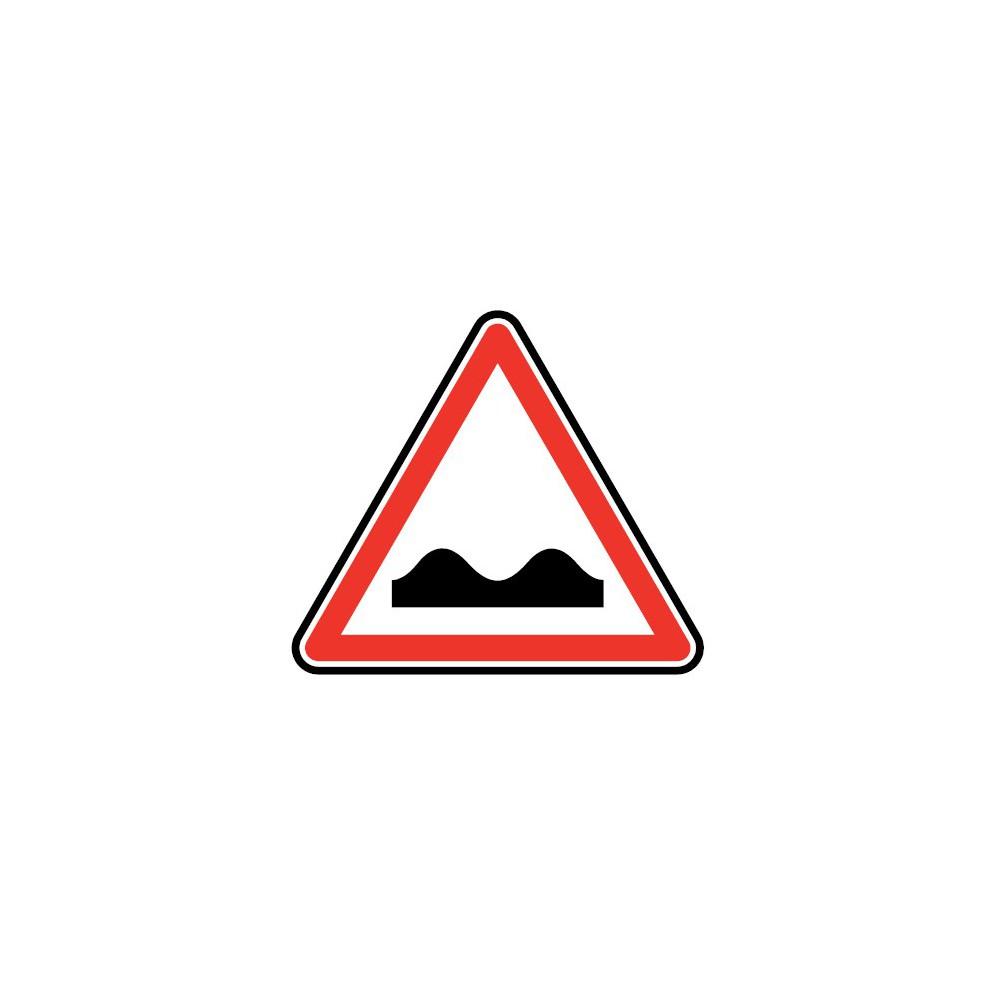 Panneau routier - type A Danger - A2a  cassis ou dos-d'âne - Signalétique Express