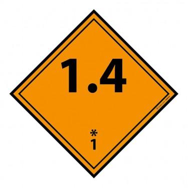 Panneau ADR 1.4 Explosif