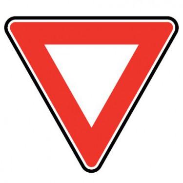Panneau routier - AB3A cédez le passage - Signalétique express