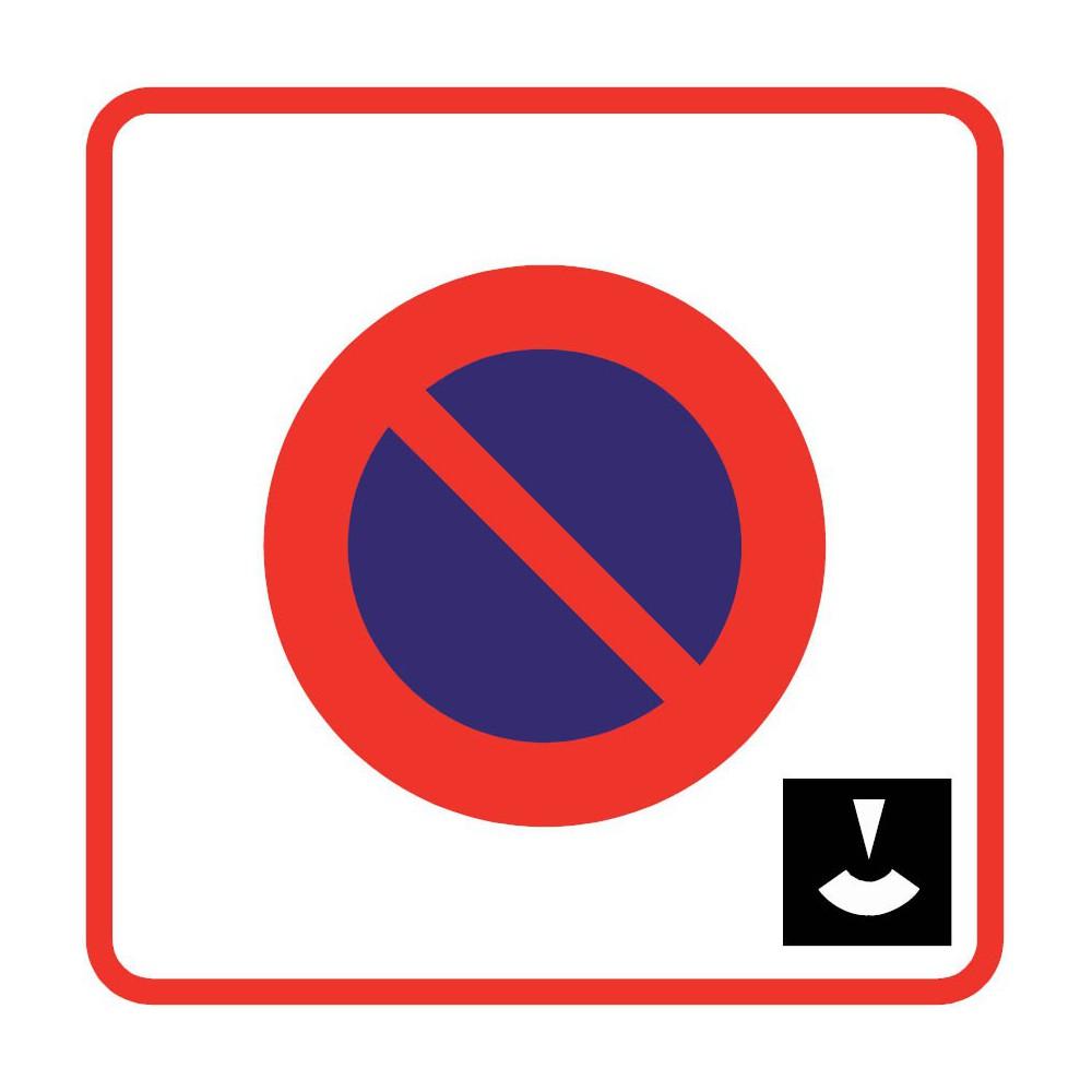 panneau routier type b zones de circulation b6b3 zone de stationnement dur e limit e et. Black Bedroom Furniture Sets. Home Design Ideas