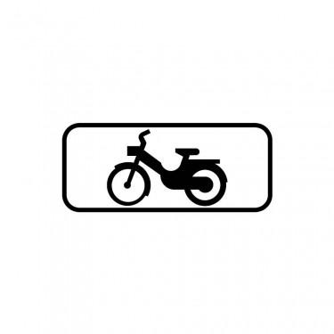 Panonceau M4d2 pour panneaux de type B  carré - panonceau M4d2
