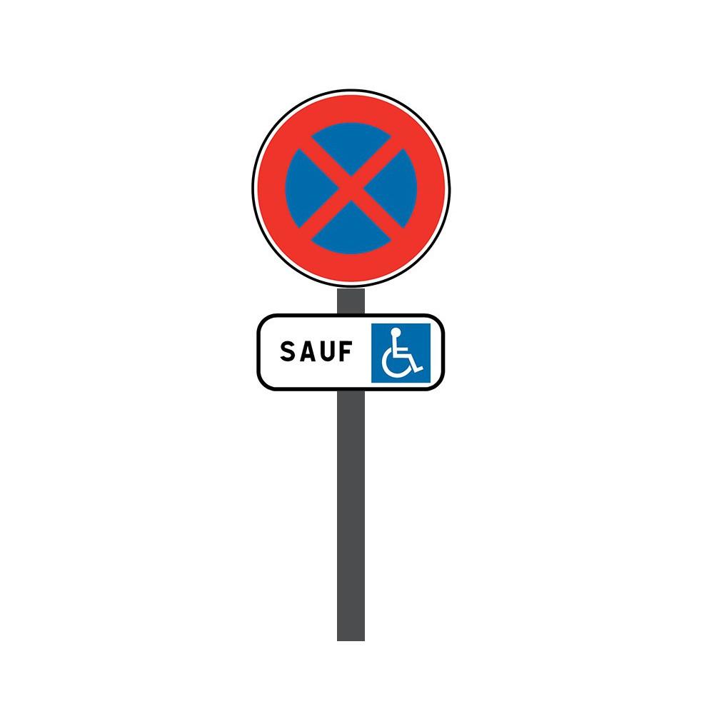 Kit de Stationnement pour personnes à mobilité réduite