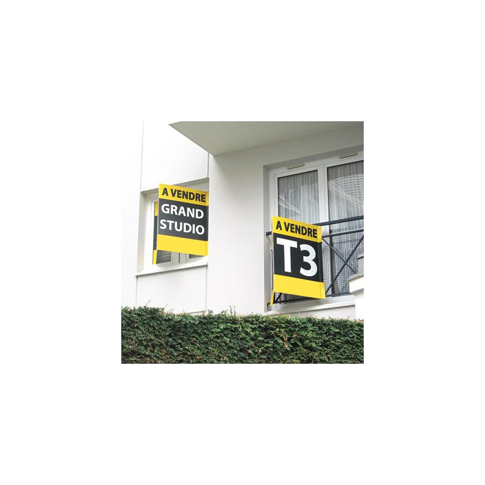 panneau immobilier en v. Black Bedroom Furniture Sets. Home Design Ideas