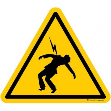 Autocollants Danger haute tension