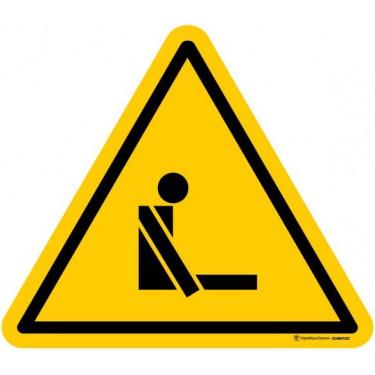 Panneau Danger Risque d'asphyxie