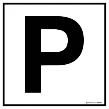 Panneau Parc de stationnement