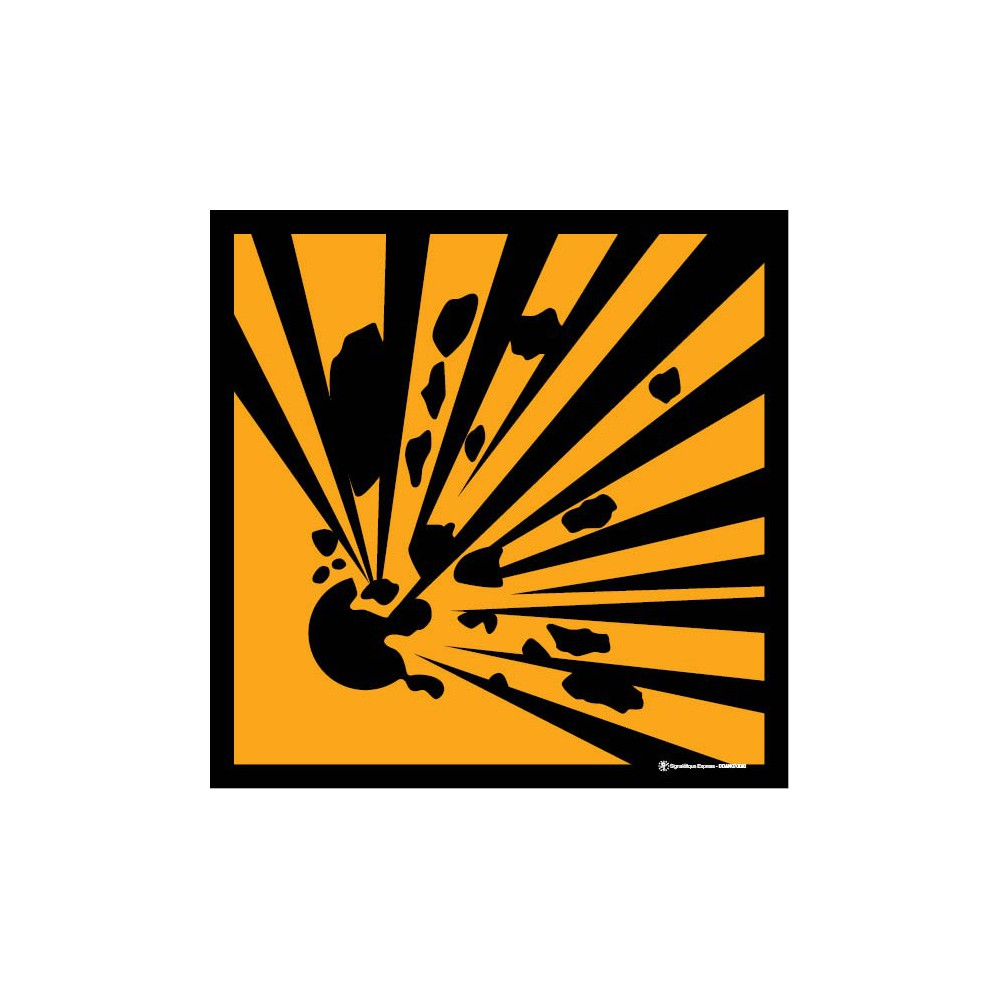 Panneau Explosif