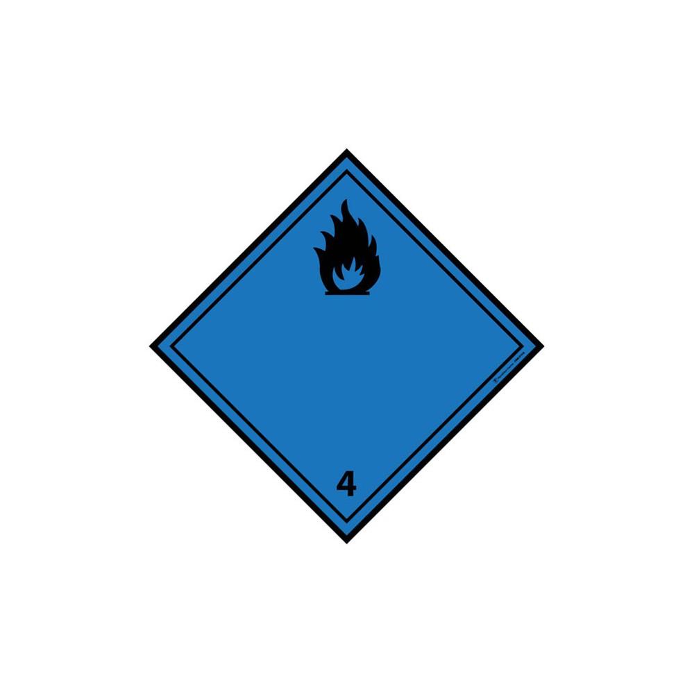 Visuel Losange Dégage du gaz inflammable au contact de l'eau