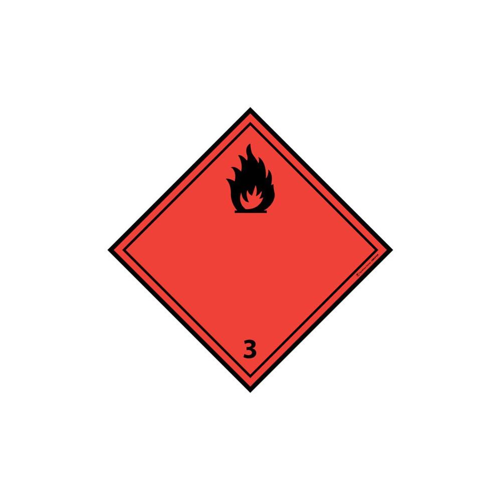 Panneau Liquides inflammables ADR 3