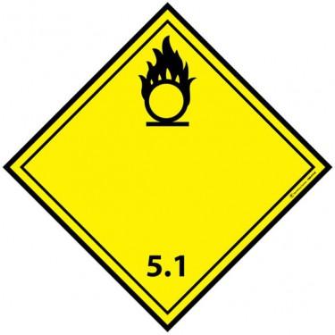 Panneau ADR 5.1 Matières comburantes