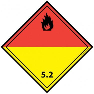 Panneau ADR 5.2 Peroxydes organiques
