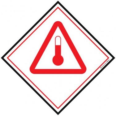 Panneau ADR Produits chauds