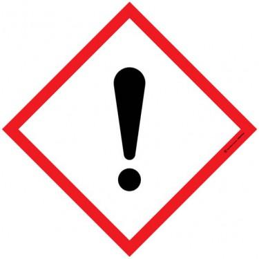 Autocollants Matières nocives ou irritantes SGH07
