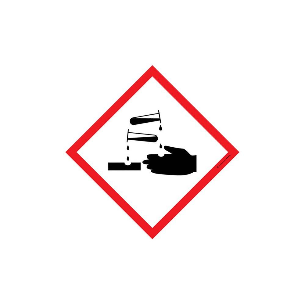 Autocollants Matières corrosives SGH05