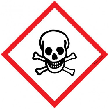 Panneau Matières toxiques SGH06
