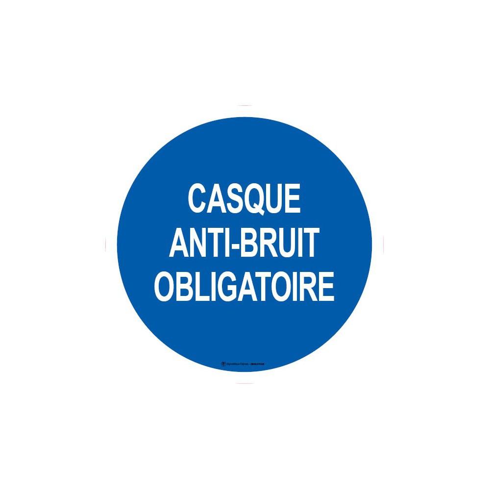 Visuel Casque Anti-Bruit Obligatoire