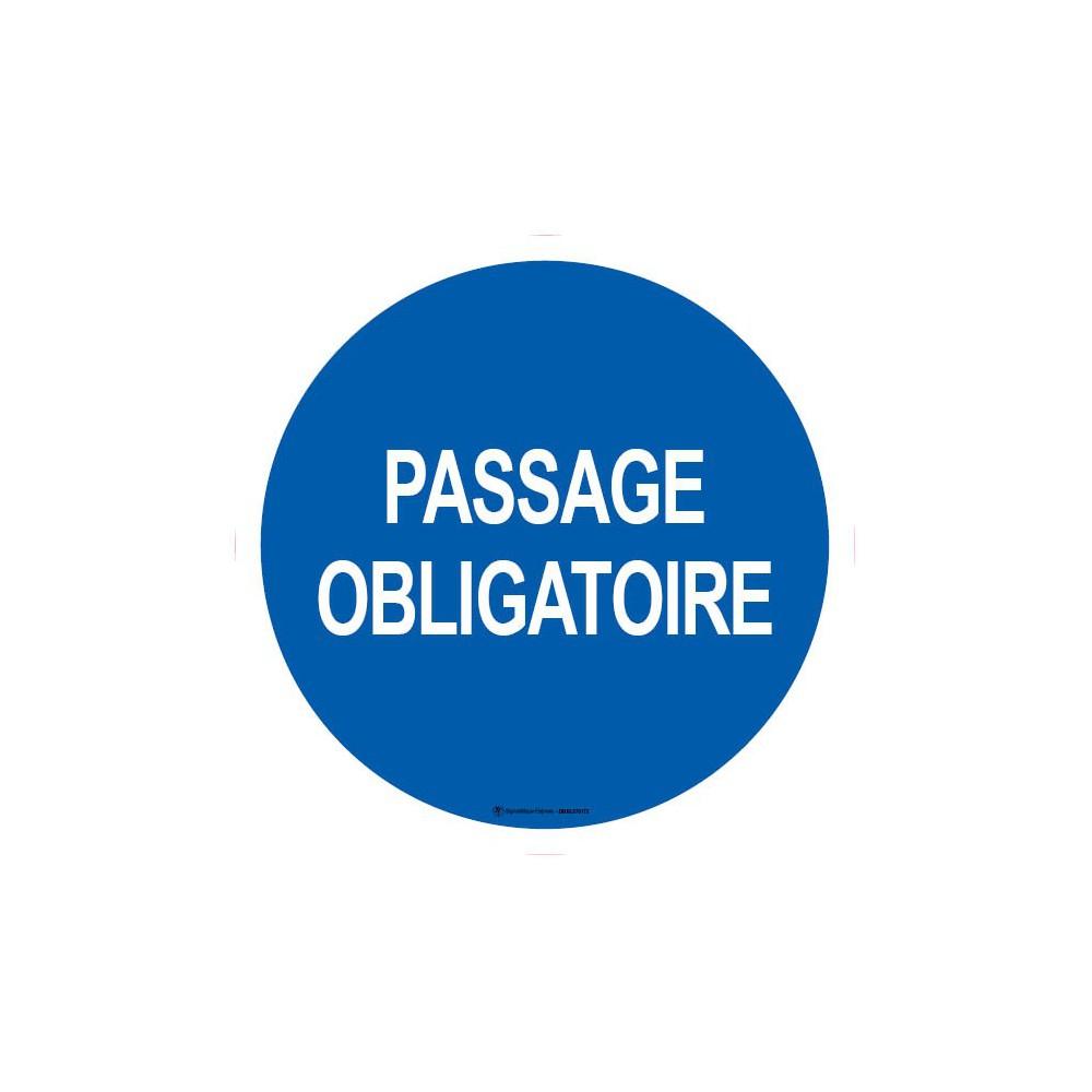 Panneau Passage obligatoire