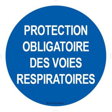 Autocollants Protection obligatoire des voies respiratoires