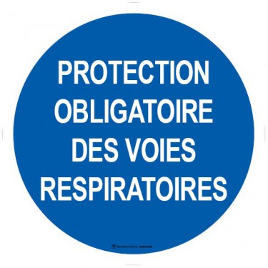 Autocollants Protection obligatoire des voies respiratoires