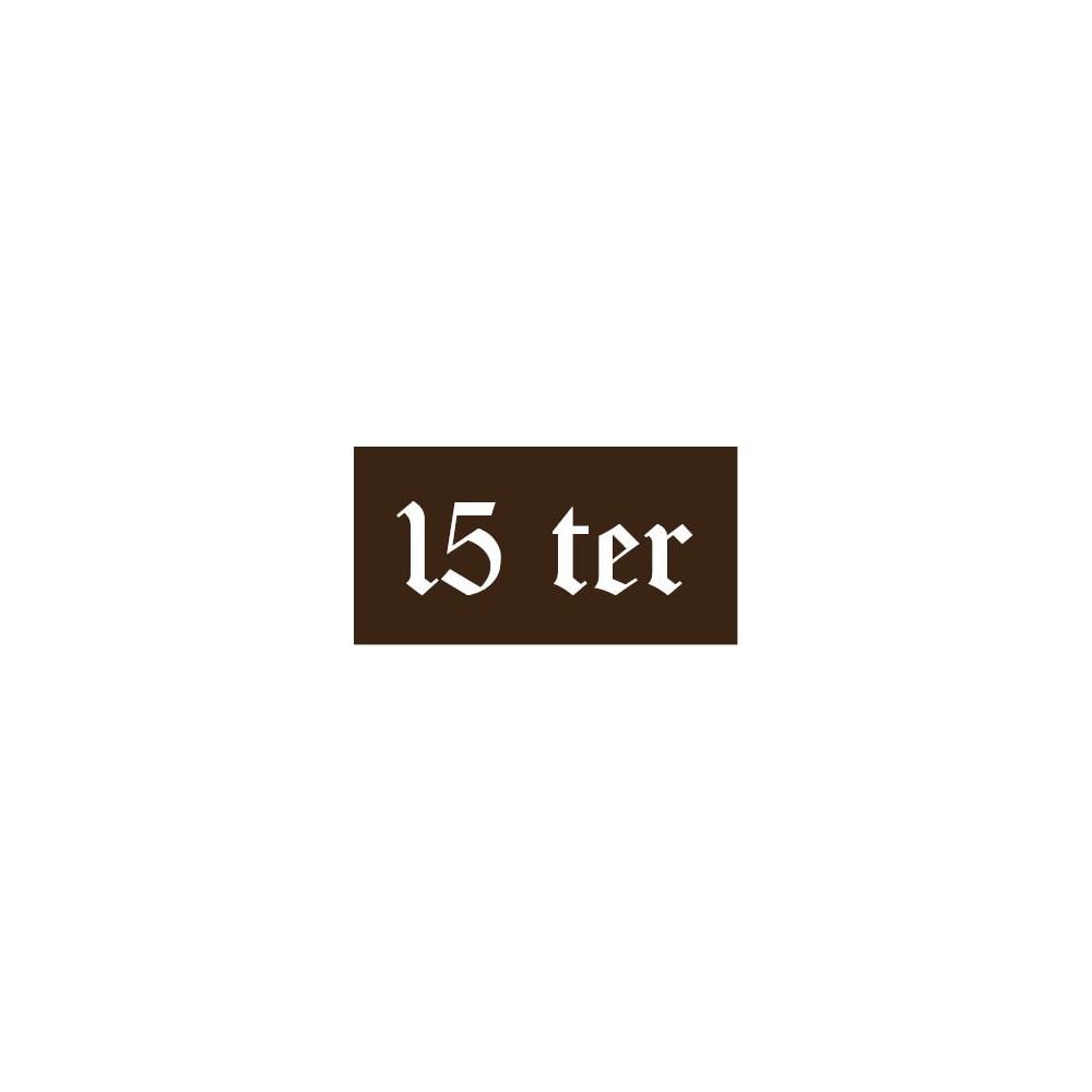 Numéro de Maison - modèle n°1