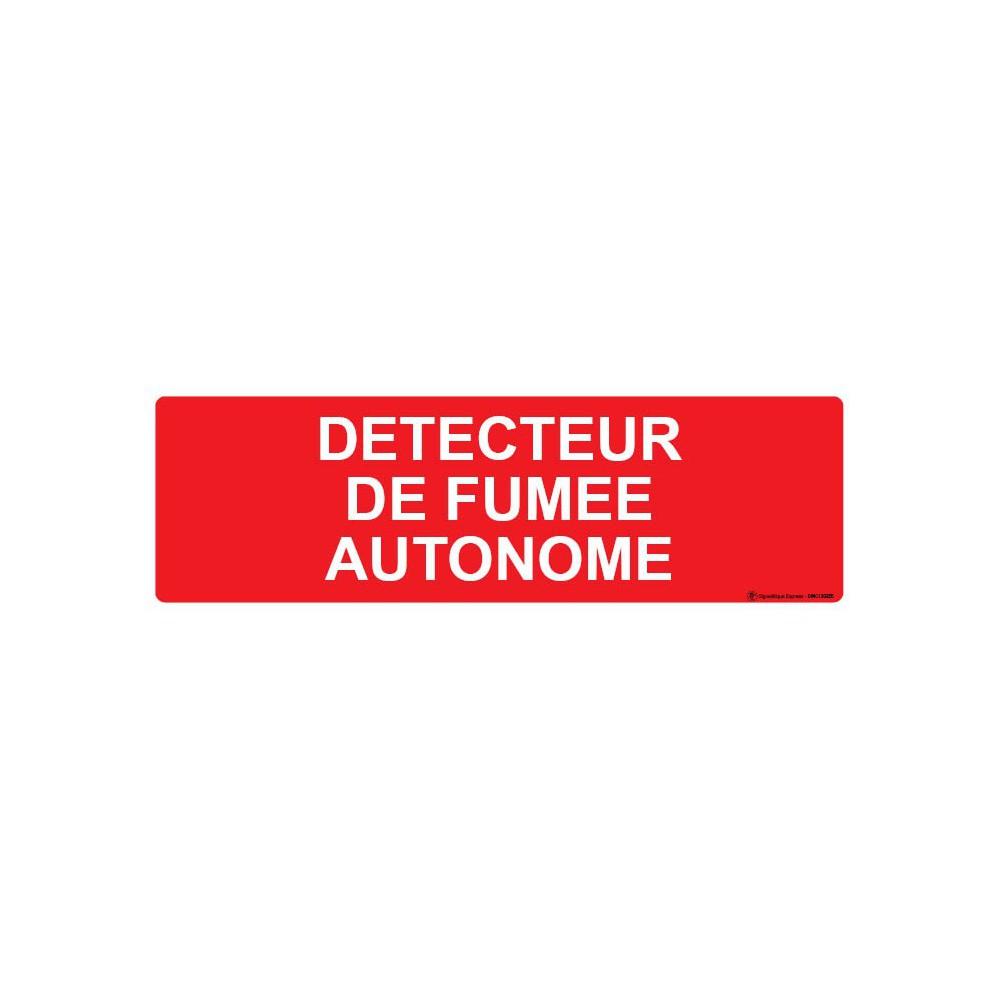 Panneau Détecteur de fumée autonome
