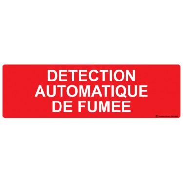 Panneau Détection automatique de fumée