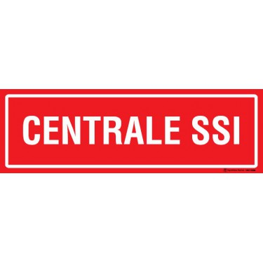 Panneau Centrale SSI