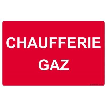 Panneau Chaufferie gaz