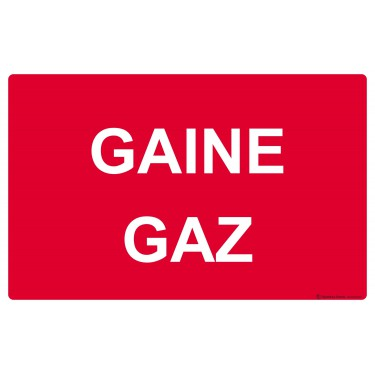 Panneau Gaine gaz