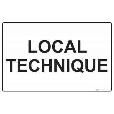 Panneau Local technique