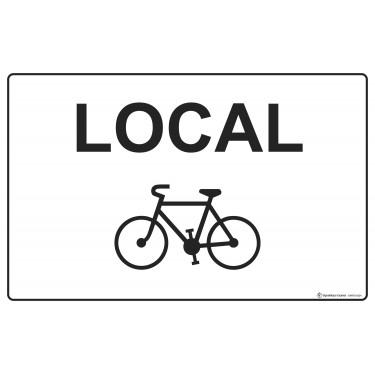 Panneau Local vélos