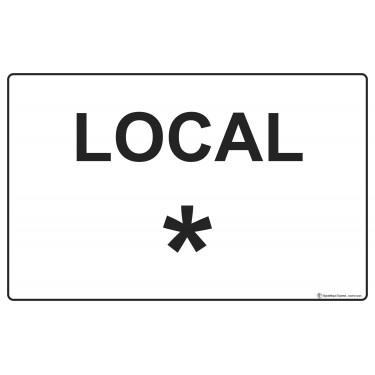 Panneau Local personnalisable