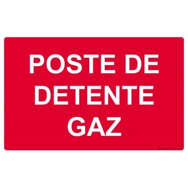 Panneau Poste de détente gaz