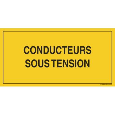 Panneau Conducteurs sous tension