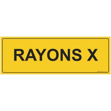 Panneau Rayons x
