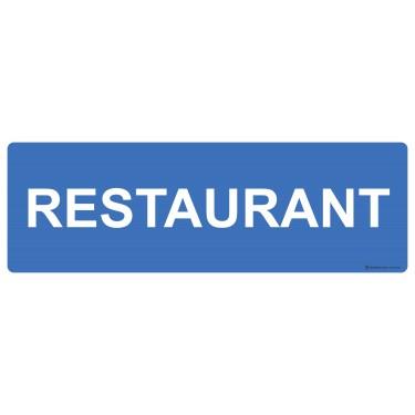 Panneau rectangulaire Restaurant