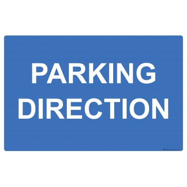 Panneau Parking direction